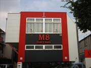 M8ホール外観